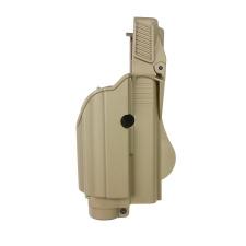 IMI defense TLH taktinis dėklas (Tactical Light/Laser Holster) smėlio spalvos