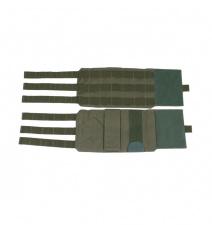 Liemenės šonas molle cummerbund plate carrier Perun 3 Ranger green