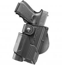 Taktinis pistoleto  Heckler & Koch / HS2000 / XDM dėklas RBT19LS RT su lazerio/žibintuvėlio apaugomis (bundle)