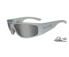 Akiniai WileyX ZAK Smoke Silver Flash Silver Metallic Frame