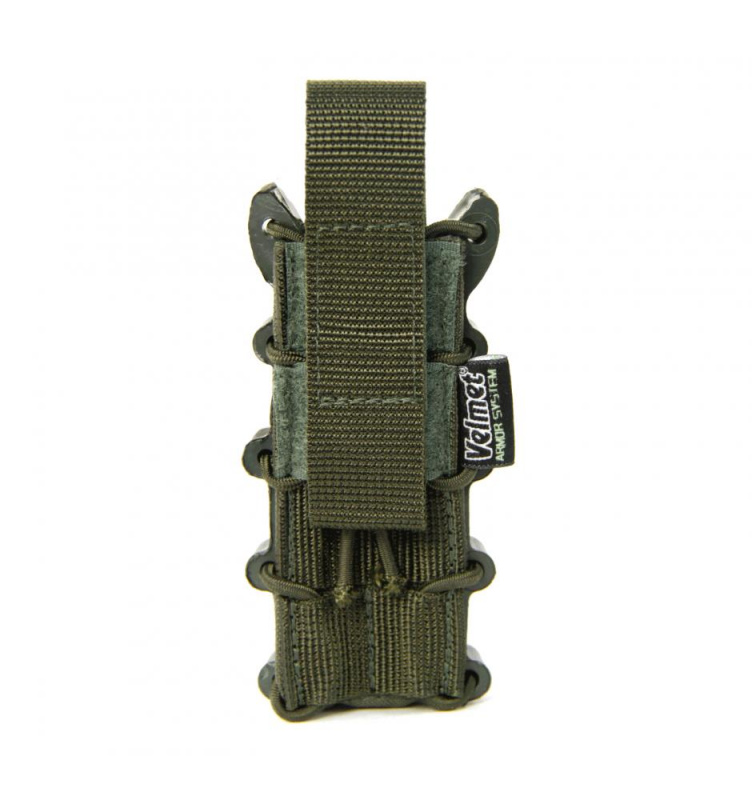 Velmet atviras pistoleto dėtuvės dėkliukas 1SF Ranger green