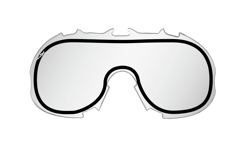 Taktiniai balistiniai akiniai Wiley X  SPEAR Dual Smoke/Clear/Rust Tan Frame ( goggle ))