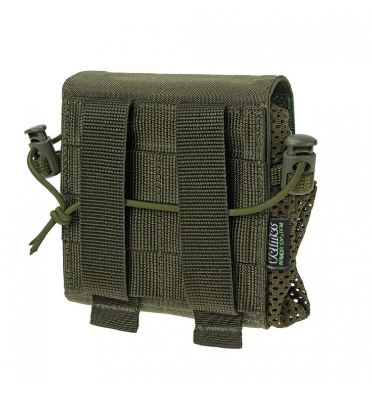Tuščių dėtuvių krepšelis Folding Dump Pouch FDP-G2 Ranger green